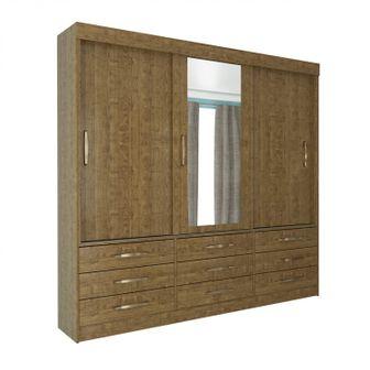 guarda-roupa-casal-3-portas-de-correr-9-gavetas-espelho-chicago-imbuia-rustic-260661_zoom
