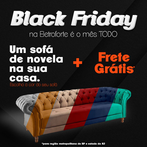 Black Friday - Sofá